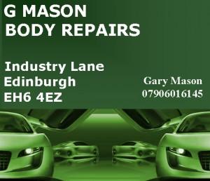 G Mason Sponsor of Lou Mason