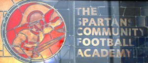 The window at the Spartans Academy