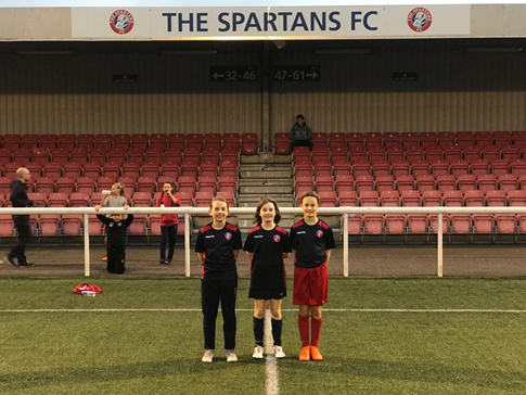 ... girls had to brave the weather twice during the recent Girls   Progression Academy trials organised by the regional Scottish Women s  Football team. 430da436d