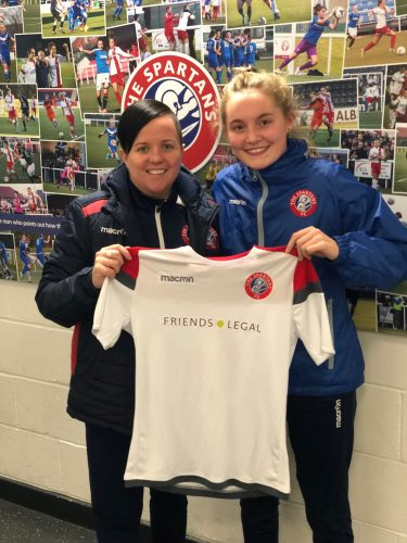Spartans have made their first signing ahead of the new Scottish Women s  Premier League season getting underway by securing the signature of Robyn  ... 2c490d0f6