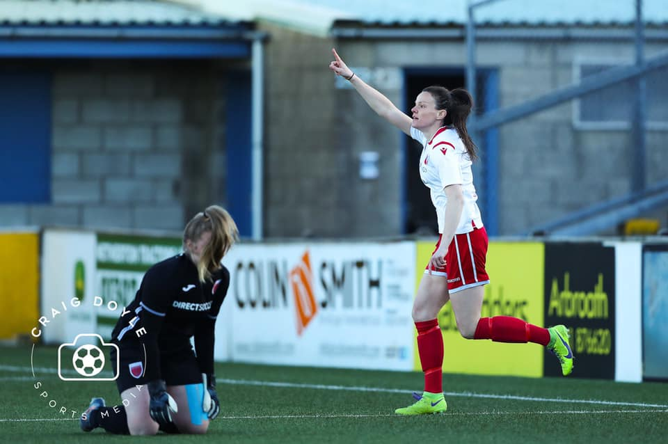Match Report: Becky brace wins the day at the home of the bridie